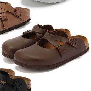 dabd2b67c69f Birkenstock Shoes - 🇩🇪 Birkenstock Dorian Kids  Clogs - Dark Brown